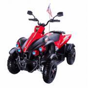 Электроквадроцикл для детей Dongma ATV 12V красно-черный