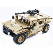 Радиоуправляемый конструктор военный джип (502 детали)