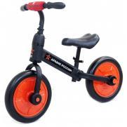 Детский беговел/велосипед красный