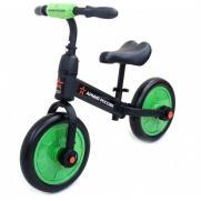 Детский беговел/велосипед зеленый