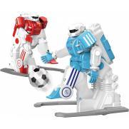 Набор из двух роботов футболистов на пульте