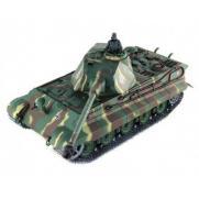 Радиоуправляемый танк German King Pro 1:16 (металл. гусеницы, пневмопушка, дым, 64 см)