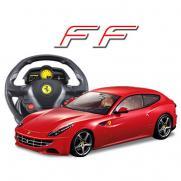 Радиоуправляемая модель автомобиля Ferrari FF 1:14, пульт-руль (31 см)
