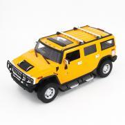 Радиоуправляемая машина Hummer H2 Yellow 1:14