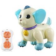 Радиоуправляемый робот собачка с пультом синяя