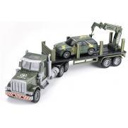 Радиоуправляемый грузовик-трейлер   джип CityTruck 1:24