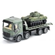 Радиоуправляемый грузовик-трейлер танк