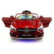 Детский электромобиль Mercedes CLA45 AMG LUXURY RED 12V