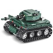 Конструктор Double E Cada Technics, Танк Tiger 1, 313 деталей, пульт управления