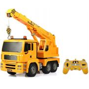 Радиоуправляемый грузовик-кран Double E 1:20 2.4G
