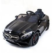 Детский электромобиль Mercedes Benz S63 LUXURY 2.4G - Black
