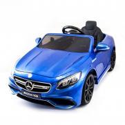 Детский электромобиль Mercedes Benz S63 LUXURY 2.4G - Blue