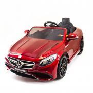 Детский электромобиль Mercedes Benz S63 LUXURY 2.4G - Red