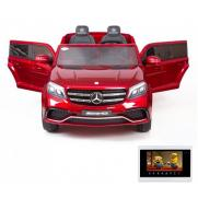 Детский электромобиль Mercedes Benz GLS63 LUXURY 4WD 12V MP4 - Red