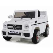 Детский электромобиль Mercedes-Benz G65 белый