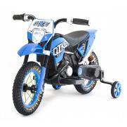 Детский кроссовый электромотоцикл Blue 6V