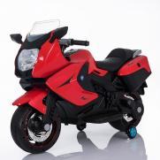 Детский электромобиль мотоцикл BMW красный