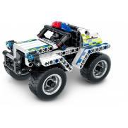 """Конструктор """"Полицейский джип"""" (инерционная модель), 199 деталей"""