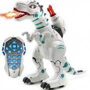 Радиоуправляемый интерактивный динозавр, стреляет ракетами