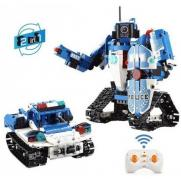 Конструктор радиоуправляемый CADA 2 в 1 полицейский робот-трансформер, 556 элементов