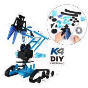 Конструктор BKN DIY 100 деталей - ру машина с электромеханическим манипулятором