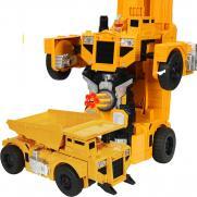 Радиоуправляемый робот-трансформер Самосвал, стреляет присосками (33 см)