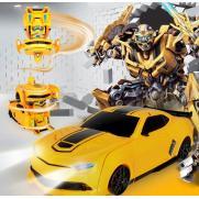 Радиоуправляемый робот трансформер машина Chevrolet 1:24 (16 см)