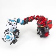 Радиоуправляемый бой роботов (2 робота по 18 см)