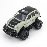 Радиоуправляемая модель внедорожника Off-Road 4X4 цвет зеленый (22 см)