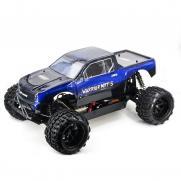 Радиоуправляемый внедорожник HSP Sheleton цвет синий EP Brushless 4WD 1:5 2.4G, 14050 (75 см)