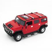 Радиоуправляемая модель машины Hummer H2 цвет красный 1:14 (35 см)