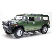 Радиоуправляемая модель машины Хаммер H2 цвет зеленый 1:10 (50 см)