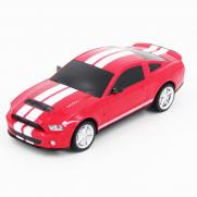 Радиоуправляемая машинка Ford Mustang цвет красный 1:24 (18 см, мини)