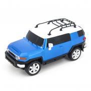 Радиоуправляемая машинка Toyota FJ Cruiser цвет синий 1:24 (18 см, мини)