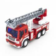 Радиоуправляемый грузовик пожарная машина (27 см, свет)