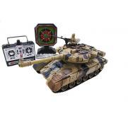 Танк радиоуправляемый для танкового боя с мишенью Household (свет, звук, 28 см)