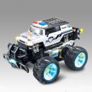 Радиоуправляемый джип трюковой полицейский Acrobatic Dancing Police Car 1:14 (свет, 30 см)