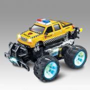 Радиоуправляемая машинка перевертыш Acrobatic Police Car 1:14 - 333-547B (свет, звук, 30 см)
