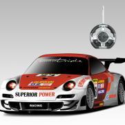 Радиоуправляемый конструктор -машина Porsche