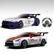 Радиоуправляемый конструктор - спортивные автомобили BMW и Nissan