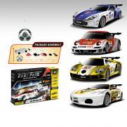Радиоуправляемый конструктор - спортивные машины Mclaren, Ferrari, Aston Martin и Porsche