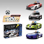 """Радиоуправляемый конструктор - 4 машины Mclaren, Ferrari, Aston Martin и Porsche """"Полиция"""""""