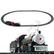 Детская железная дорога Huan Nuo (дым, свет, звук, 12 деталей)