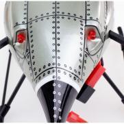 Радиоуправляемый квадрокоптер/дрон V959 2.4GHz С КАМЕРОЙ (видео, 3D, подсветка, 30 см, до 100 м)