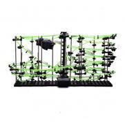 Динамический конструктор Космические горки, светящиеся рельсы, уровень 4