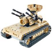 Радиоуправляемый конструктор зенитный танк 457 деталей