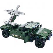 Радиоуправляемый конструктор боевой джип 502 детали