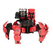 Робот-паук на пульте (лазер, диски) (синий, красный) + АКК и ЗУ Wow Stuff 9001-1