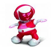 Интерактивный танцующий робот Andy красный (управление смартфон, музыка, 22 см)