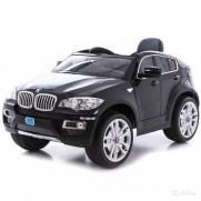 Радиоуправляемый детский электромобиль Джип BMW X6 12V (117 см)